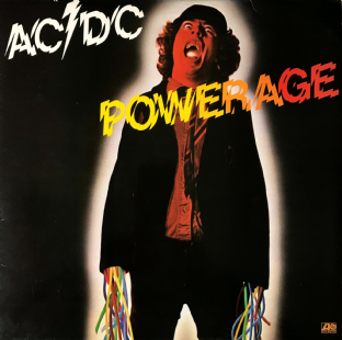 AC/DC - Powerage (LP) (VG/VG-)
